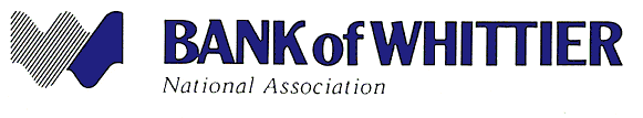 Bank of Whittier Logo