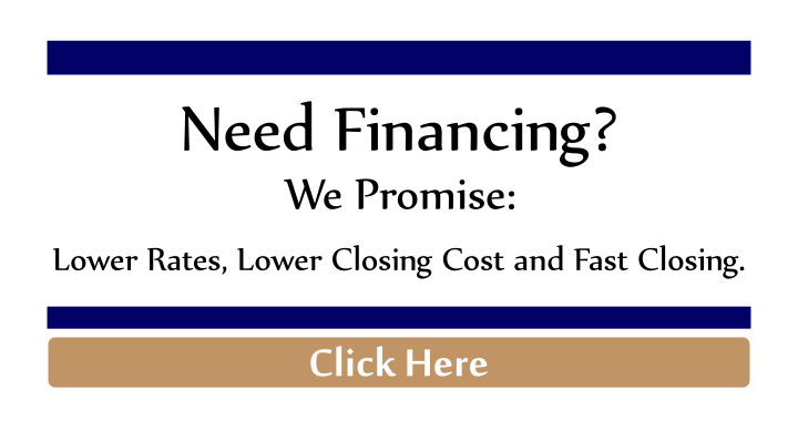 We Promise: Lower Rates, Lower Closing Cost and Fast Closing